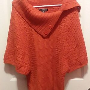 Micha Burnt Orange Sweater